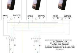 Система электроснабжения коттеджей